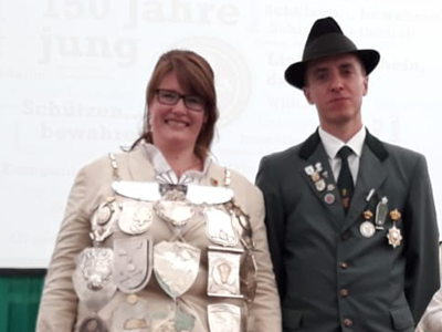 Regimentskönigin 2019/2020